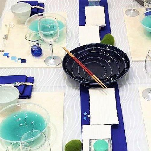 初夏のテーブルセッティング